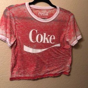 78b688bf98572 Coca Cola Crop Tops for Women